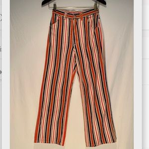 Vintage wrangler striped jeans